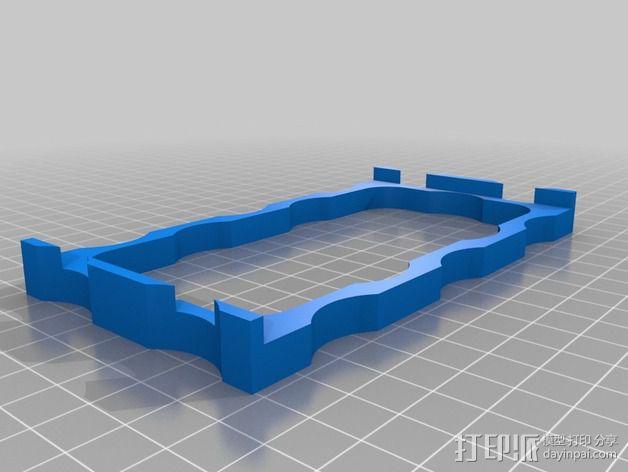 ipone5手机壳 3D模型  图2