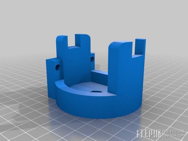 混合支架 3D模型  图2