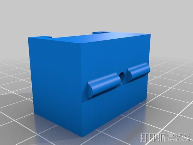 混合支架 3D模型  图3