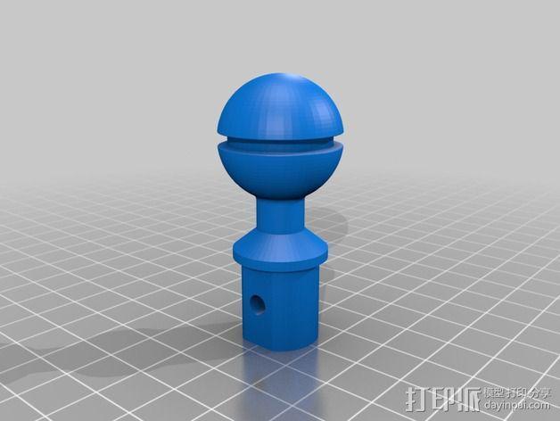 照相机光球臂 3D模型  图1