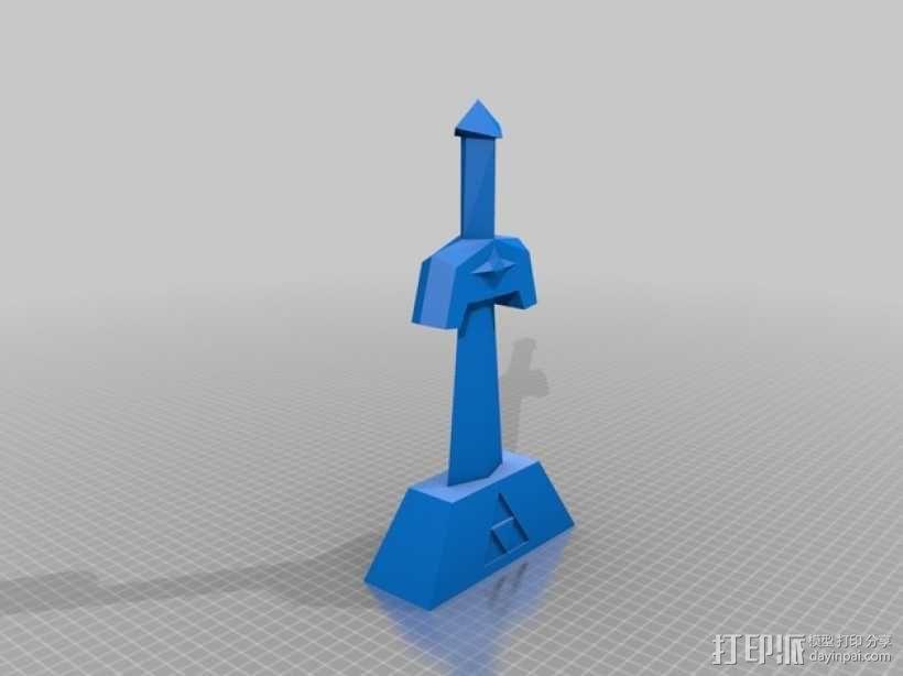 科克里之剑 3D模型  图3