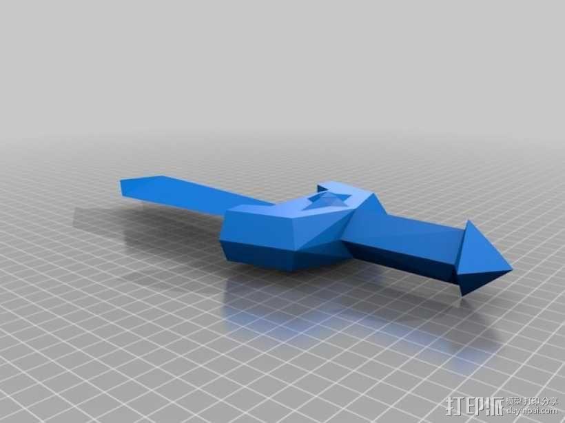 科克里之剑 3D模型  图2