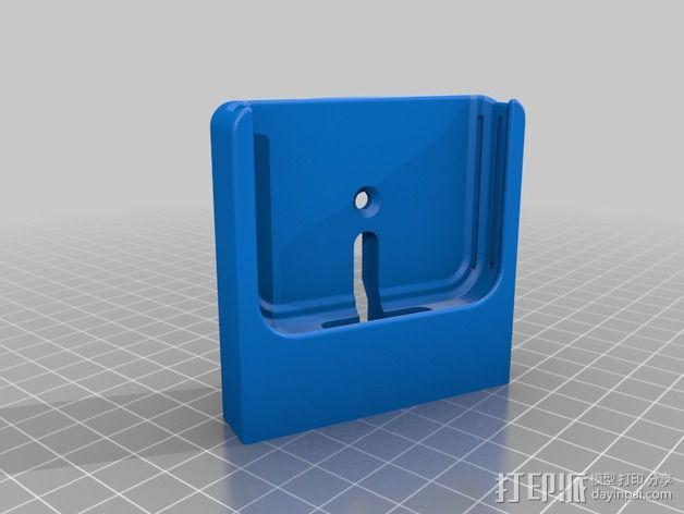 苹果4s手机壳 3D模型  图3