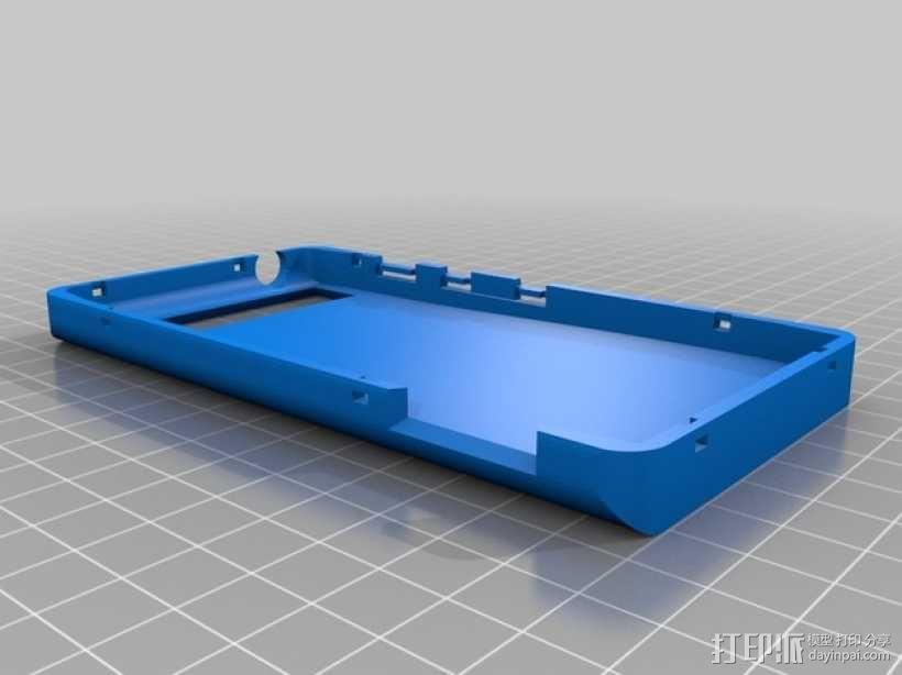 摩托罗拉手机壳 3D模型  图1
