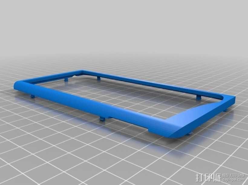 摩托罗拉手机壳 3D模型  图2