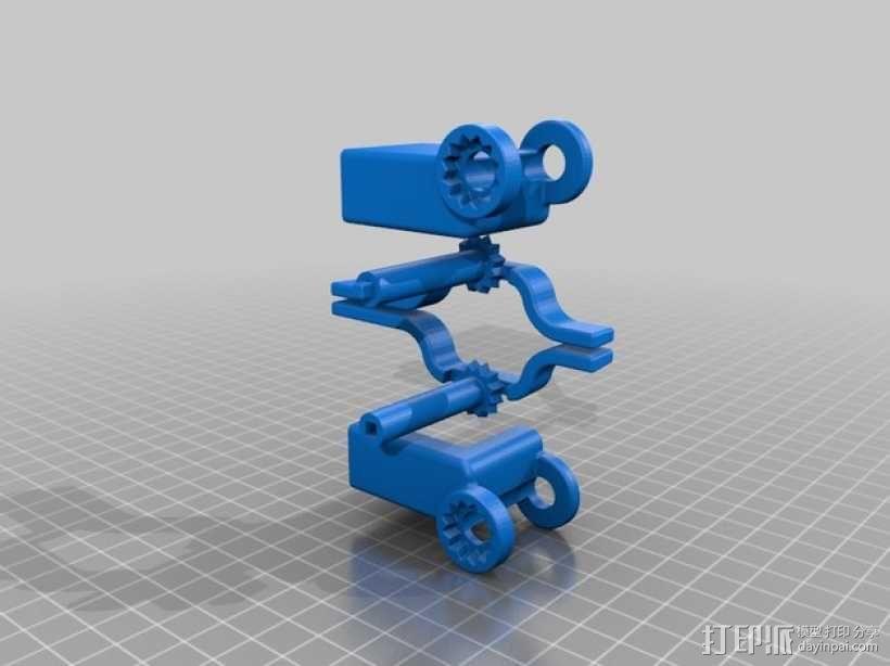 iphone 5s手机座 3D模型  图1