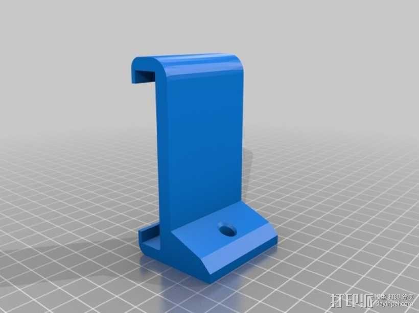 Nexus 5三角手机架 3D模型  图2