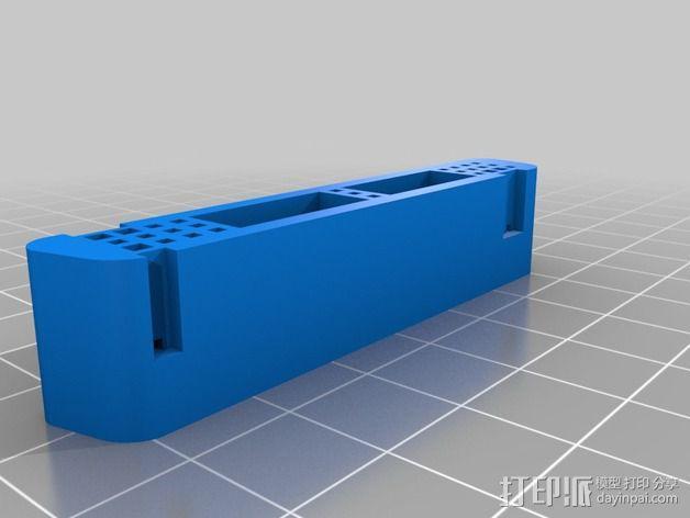 电缆适配器 3D模型  图2