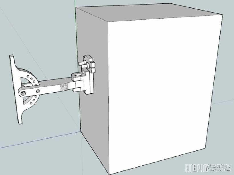 演讲设备挂载 3D模型  图1