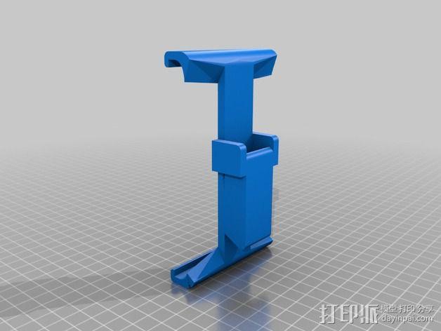 幻影平板夹 3D模型  图2