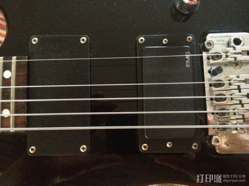吉他更换版 3D模型  图1
