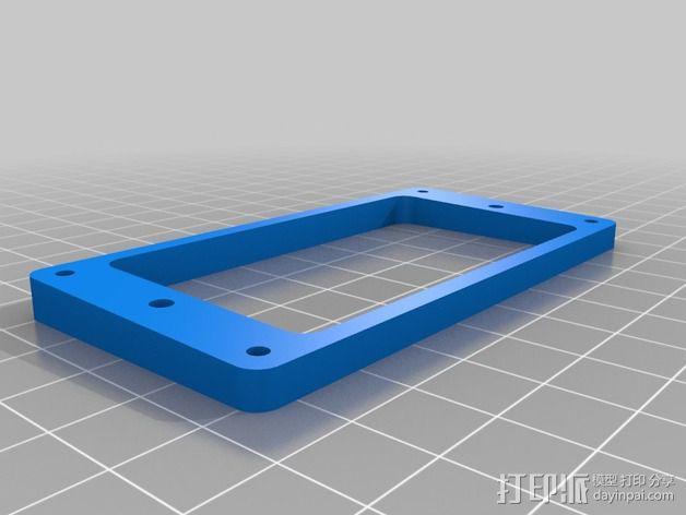 吉他更换版 3D模型  图2