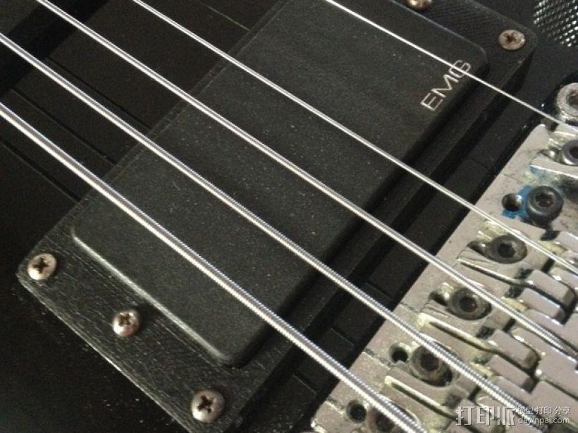吉他更换版 3D模型  图4
