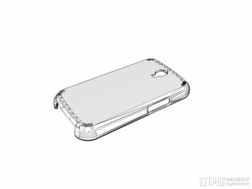 三星s3手机保护壳 3D模型  图1