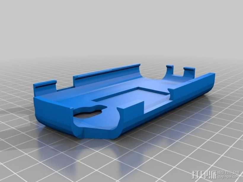 三星s3手机保护壳 3D模型  图2
