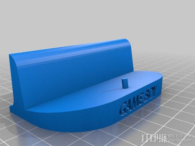 游戏机座 3D模型  图2