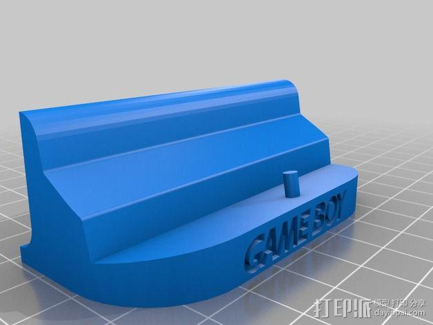 游戏机座 3D模型  图3