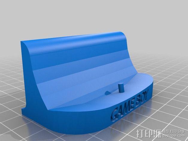 游戏机座 3D模型  图4