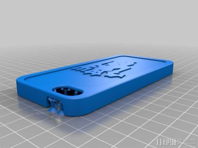 iphone5s手机壳 3D模型  图3