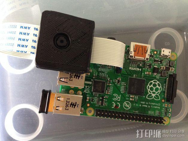 芯片保护壳 3D模型  图1