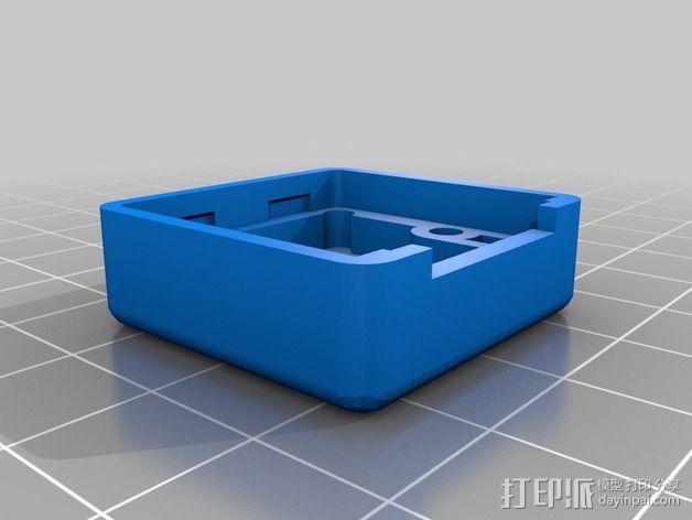 芯片保护壳 3D模型  图3