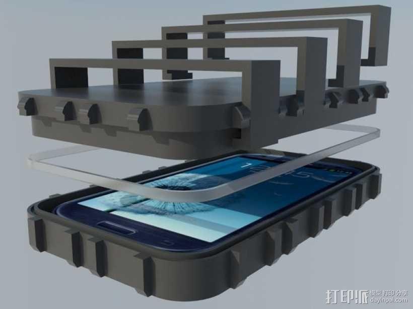 三星S3保护壳 3D模型  图1