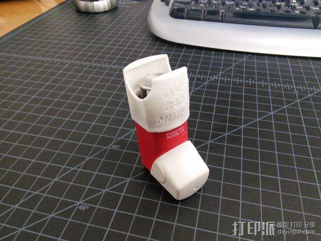 吸入器 3D模型  图1
