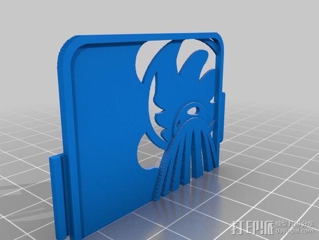 手机壳框架 3D模型  图3