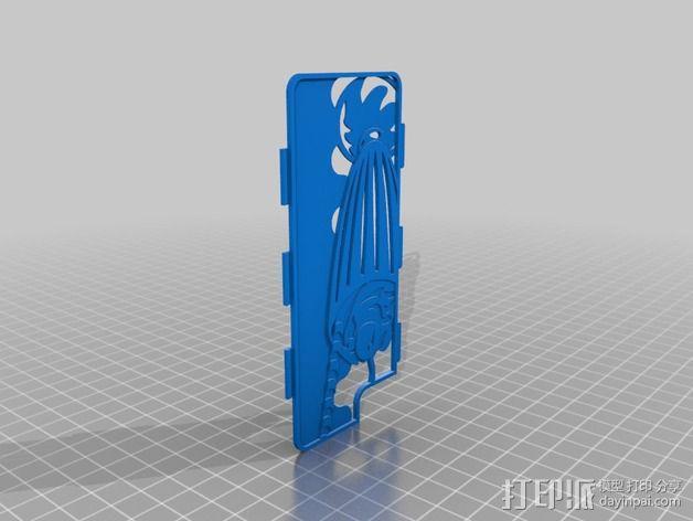 手机壳框架 3D模型  图1