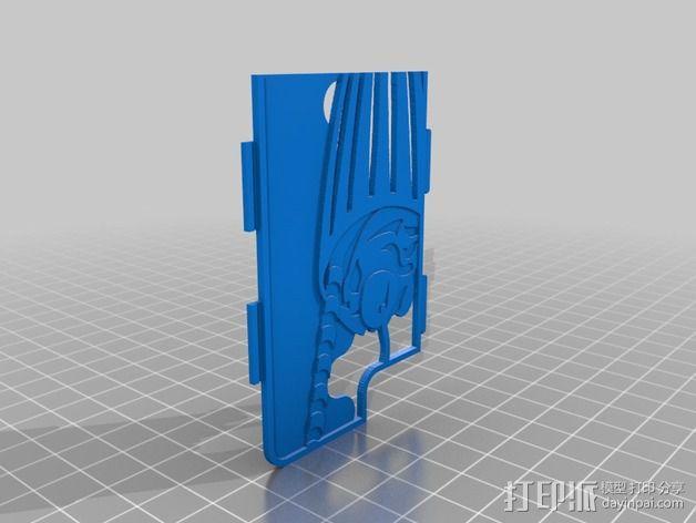 手机壳框架 3D模型  图2
