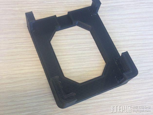 iphone4s车载手机座 3D模型  图1