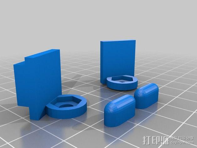 控制站2.0 3D模型  图2