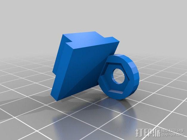控制站2.0 3D模型  图4