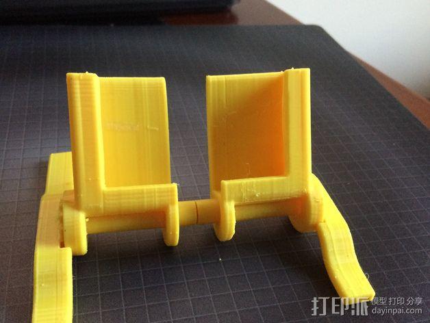 iphone5s折叠架 3D模型  图1