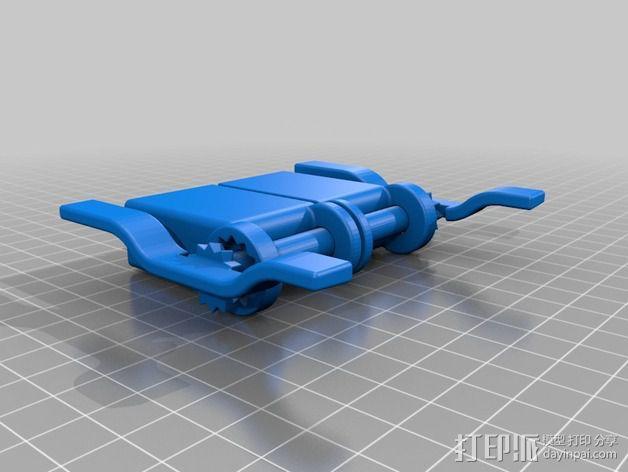 iphone5s折叠架 3D模型  图3