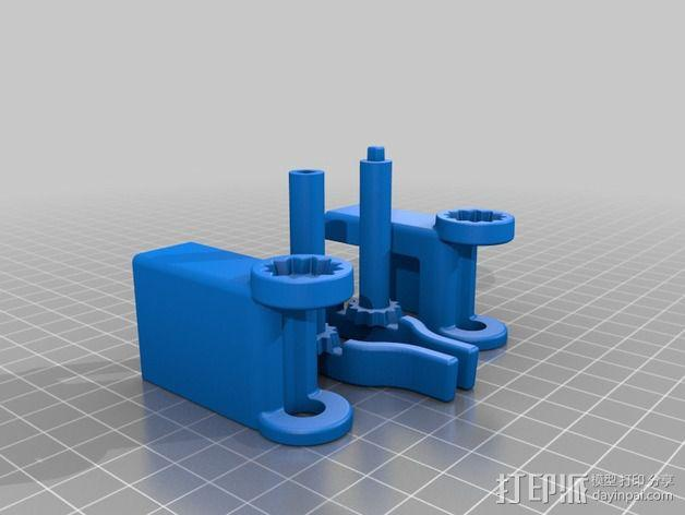 iphone5s折叠架 3D模型  图4