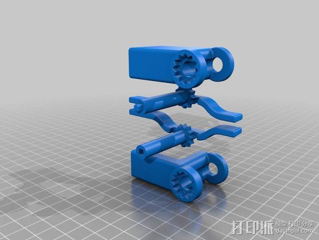 iphone5s折叠架 3D模型  图5