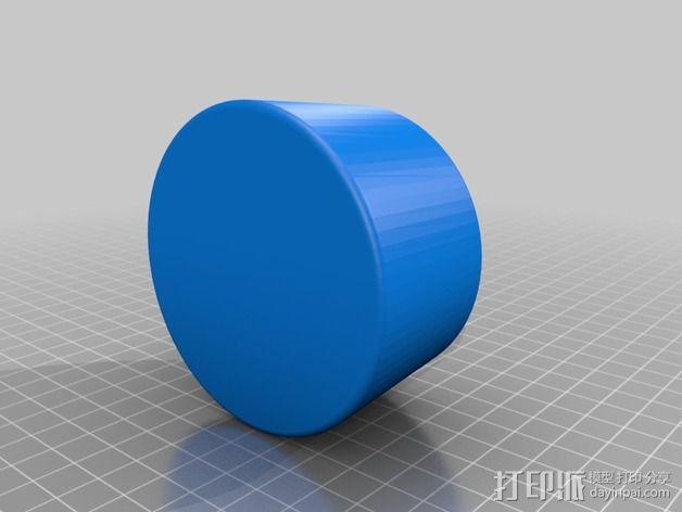 导航杯座 3D模型  图2