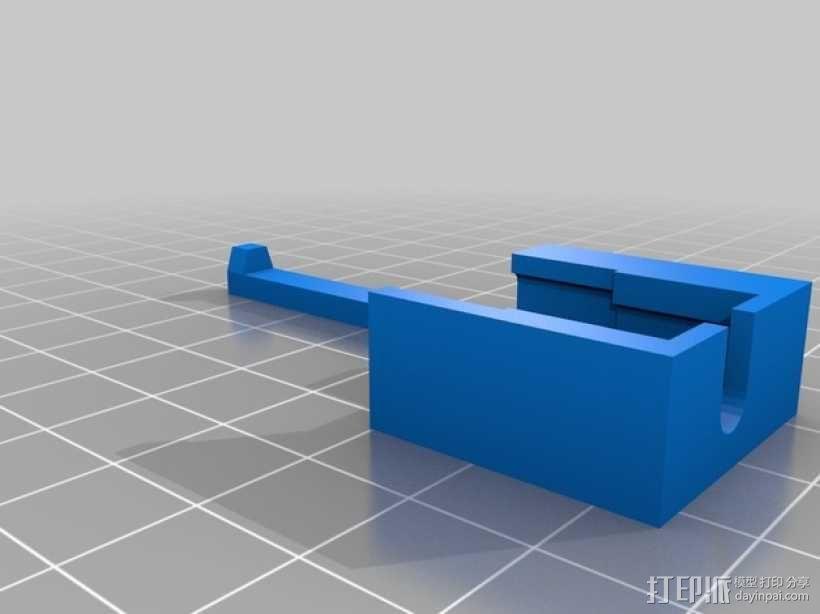 苹果电脑转换器 3D模型  图1