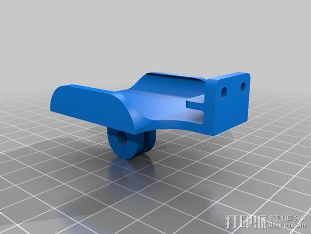 充电机座 3D模型  图2