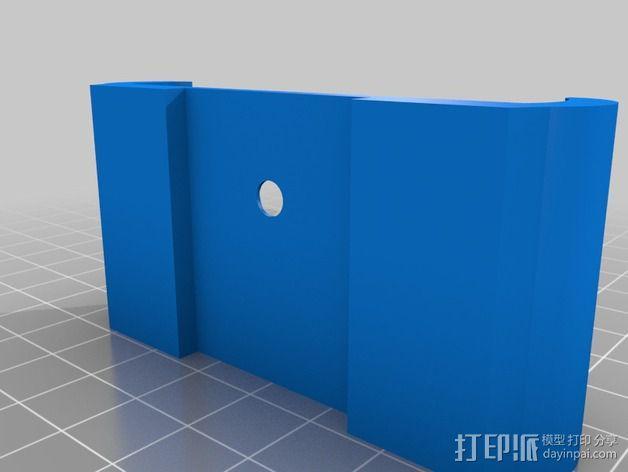 车载iphone手机座 3D模型  图4