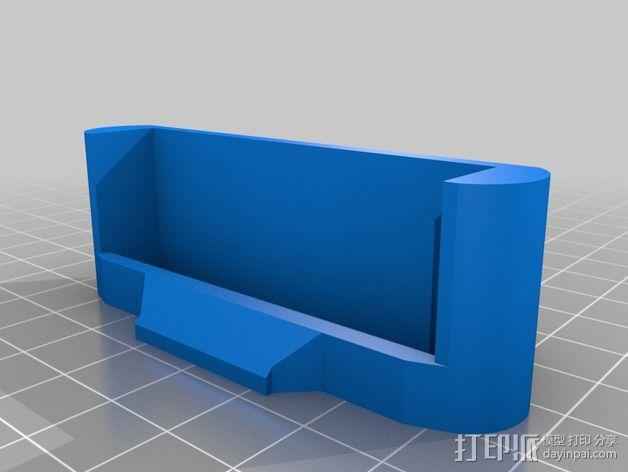 车载iphone手机座 3D模型  图5