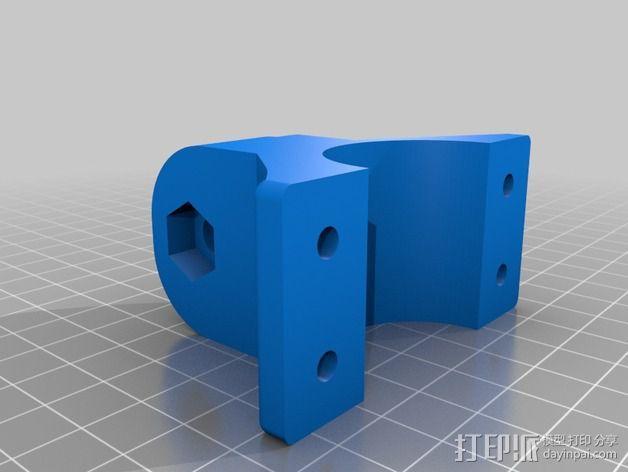 车载iphone手机座 3D模型  图7