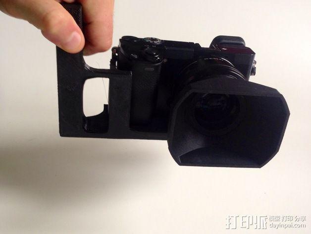 手持索尼相机支架 3D模型  图3