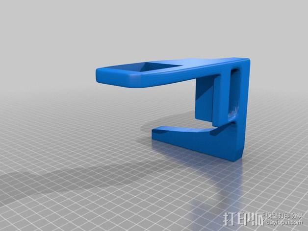 手持索尼相机支架 3D模型  图2