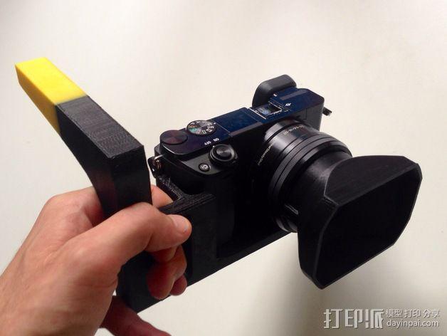 手持索尼相机支架 3D模型  图6