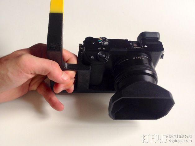 手持索尼相机支架 3D模型  图5