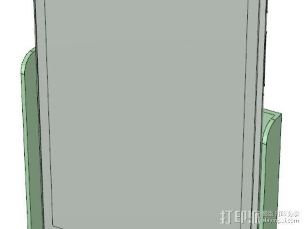 Nexus 7 站架 3D模型  图3