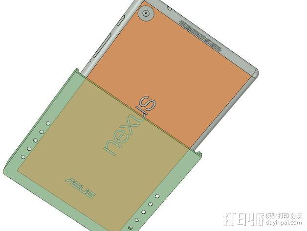 Nexus 7 站架 3D模型  图7