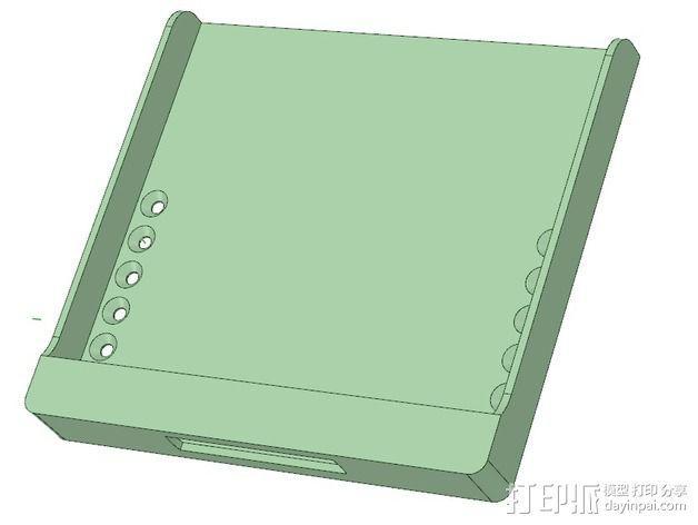 Nexus 7 站架 3D模型  图4